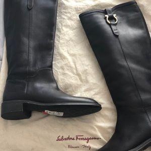 Salvatore Ferragamo Riding Boots